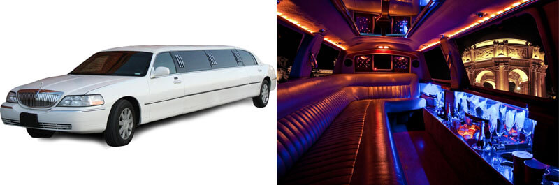 Lincoln 10 Passenger Stretch Limo