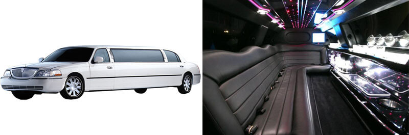 Lincoln 6 Passenger Stretch Limo