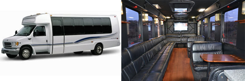 24 Passenger Limo Bus